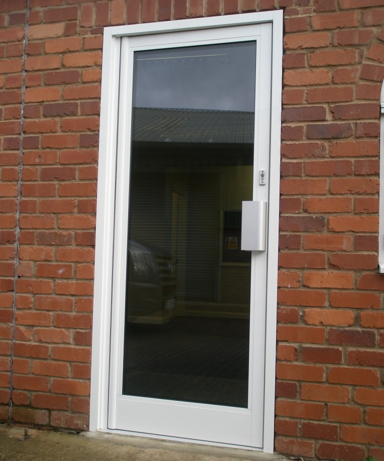 E. Commercial Aluminium Door Systems